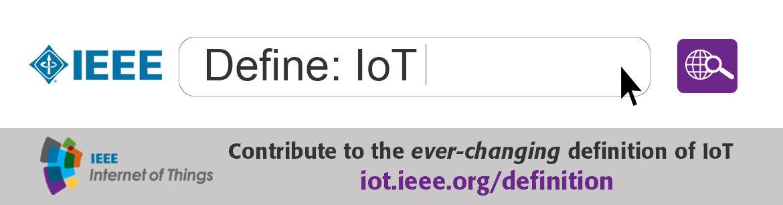 Define iot ieee internet of things for Ieee definition