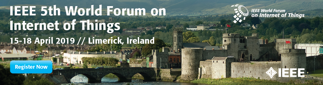 5th IEEE World Forum on the Internet of Things 2019 - Limerick, Ireland