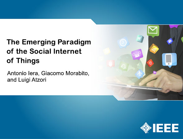 The Emerging Paradigm of the Social Internet of Things