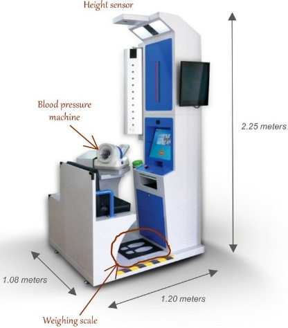 Figure 2: Prototype Automated Health Testing Station.